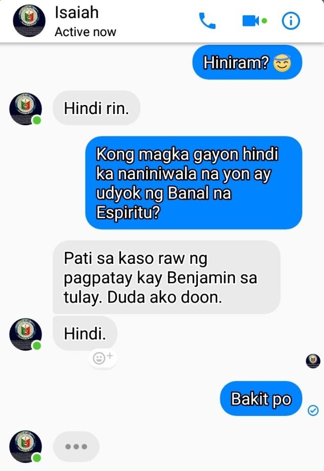 ISAIAH JAMES October 1 naipadala ng isang tapat na Hinirang 2
