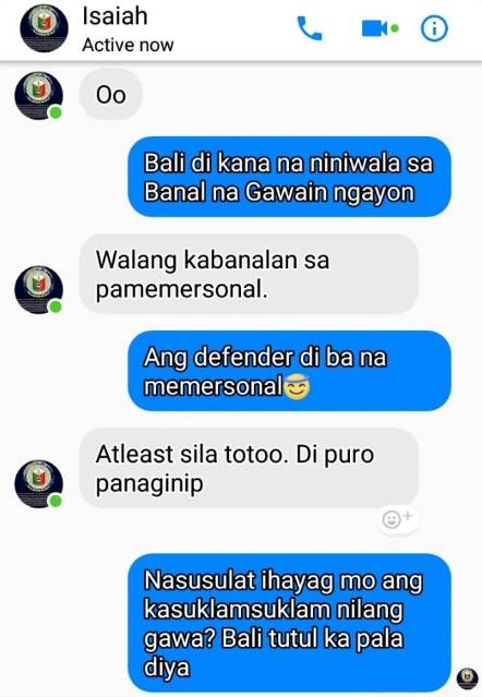 ISAIAH JAMES October 1 naipadala ng isang tapat na Hinirang